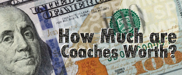What are football coaches being paid?