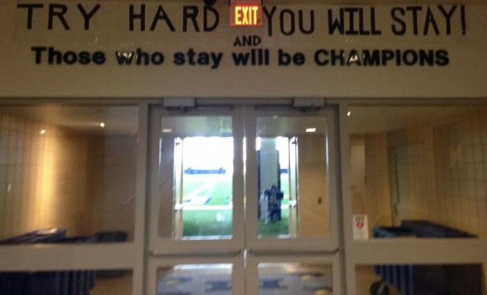 Jim Harbaugh Updates Bo Schembechler's Slogan