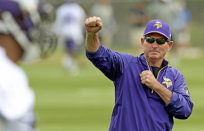 Coach Mike Zimmer Coaching Tree & Rating